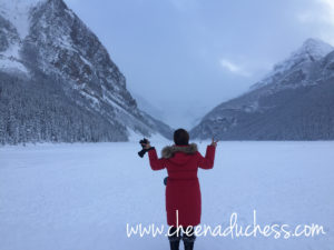 At the Frozen Lake Louise